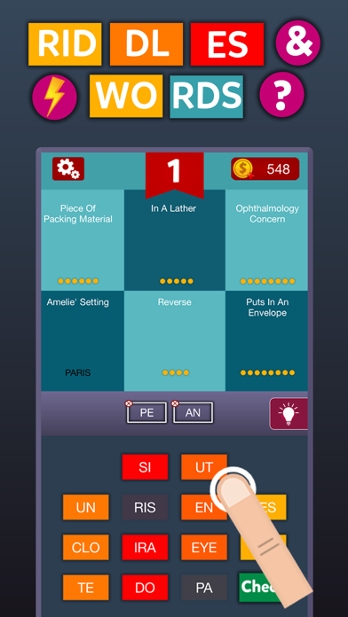 Riddles & Words - Puzzle Game screenshot one
