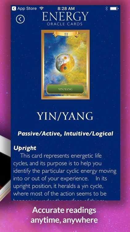 Energy Oracle Cards screenshot-4