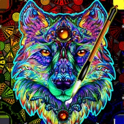 ColorWolf : NEW Coloring Book