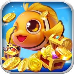 捕鱼 - 捕鱼游戏:全民疯狂深海打鱼游戏