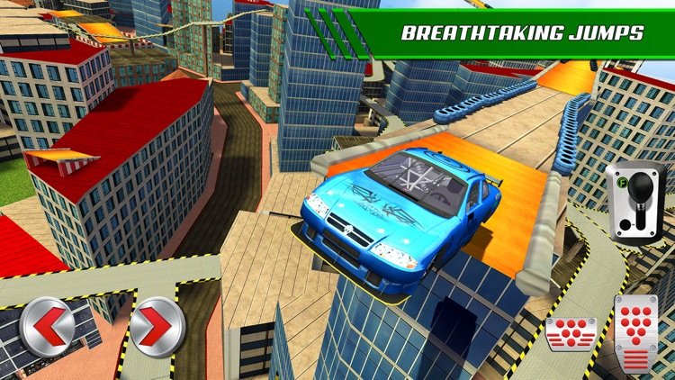 Roof Jumping: Stunt Driver Sim screenshot-3