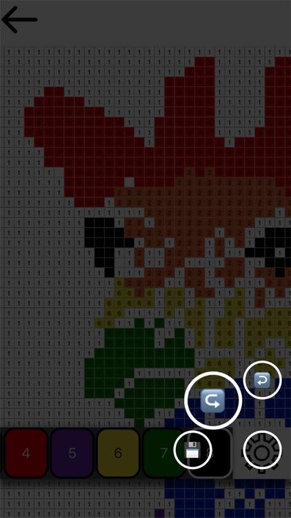 Color by Number - Pixel Art screenshot-4