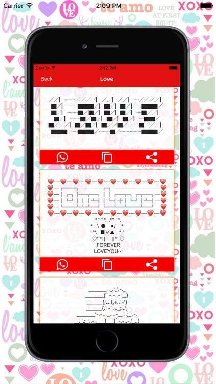 Cute Chat SMS screenshot-3