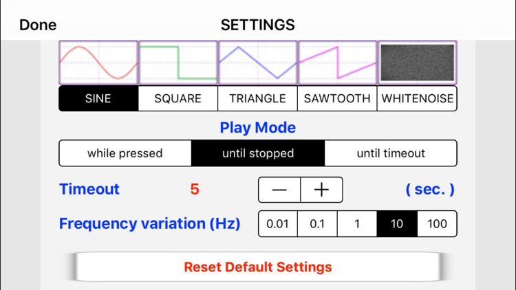 iTuningFork - Tone Generator screenshot-1