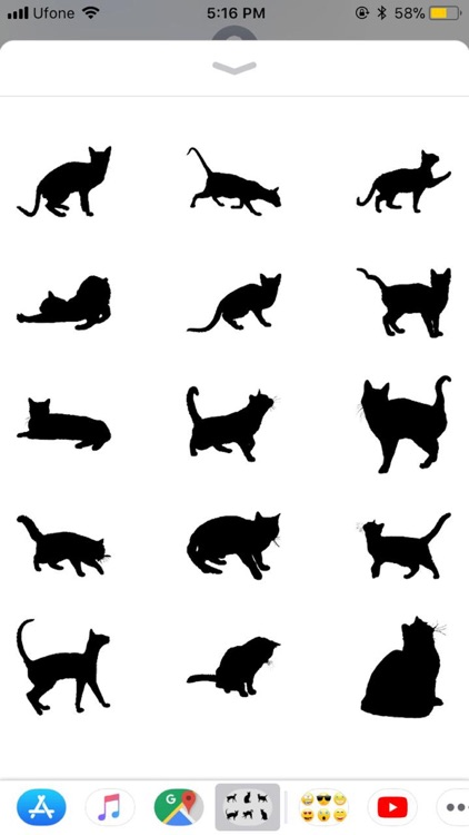 Black Cats Stickers screenshot-3