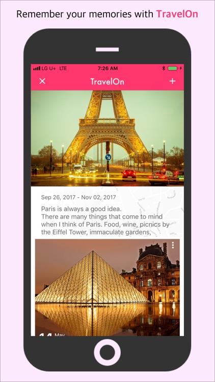 TravelOn Pro - Travel Diary