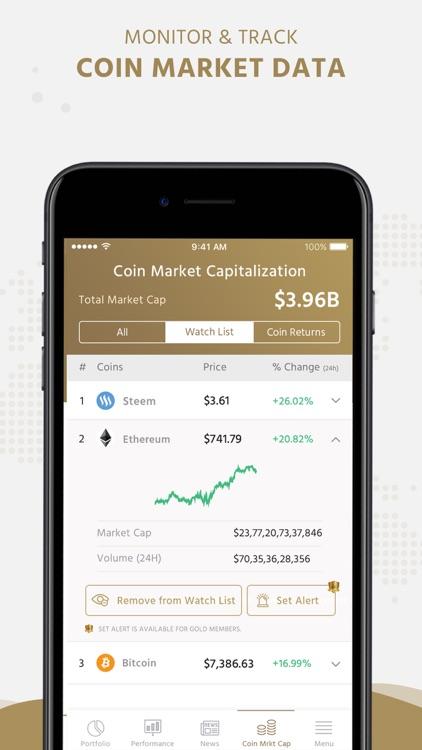 KryptoGraphe Crypto Portfolio screenshot-6