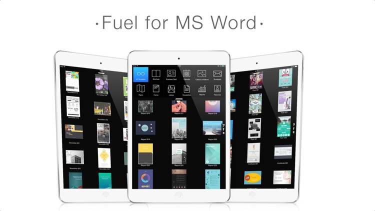 Fuel for MS Word screenshot-4