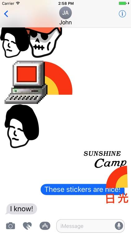 CAMP Stickers