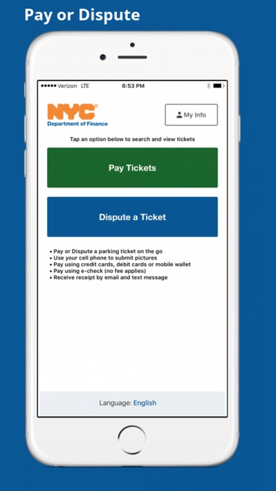 nyc pay or dispute by nyc department of finance ios united states rh searchman com