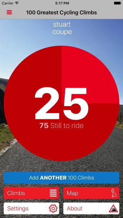 100 Greatest Cycling Climbs Screenshot