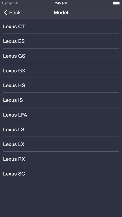 TechApp for Lexus