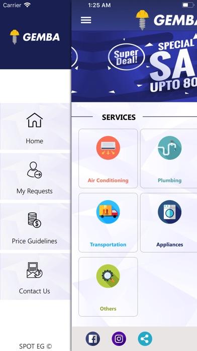 Gemba Solutions screenshot