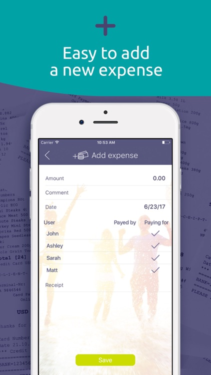 Split expenses with friends