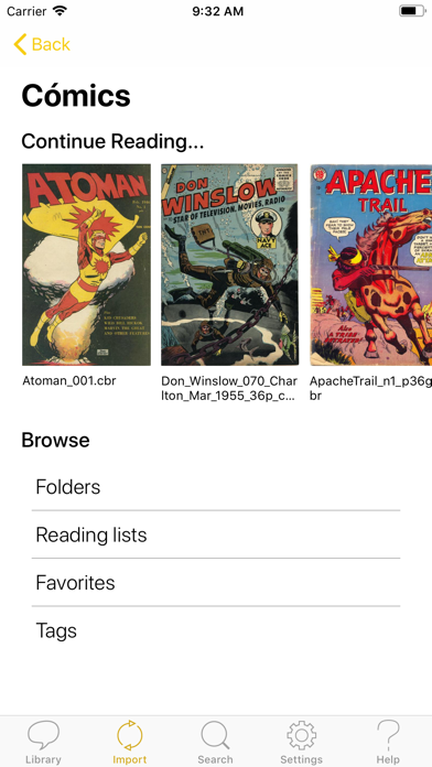 点击获取YACReader - Comic Reader