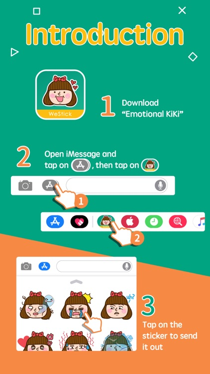 Emotional KiKi screenshot-3