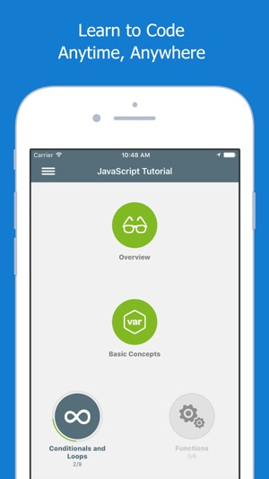 Learn JavaScript on the App Store