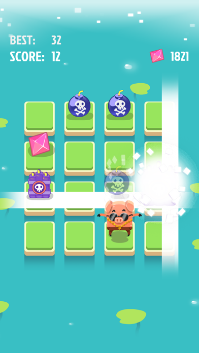Ninja VS Bomb screenshot two