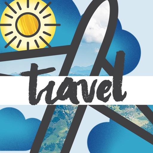 Travel-Moji Texting Stickers iOS App