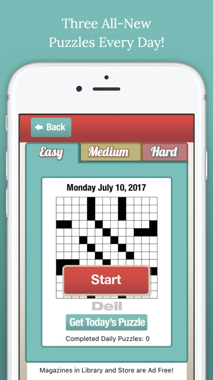 Penny Dell Crossword Daily screenshot-0