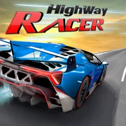 Car Racing On Highway