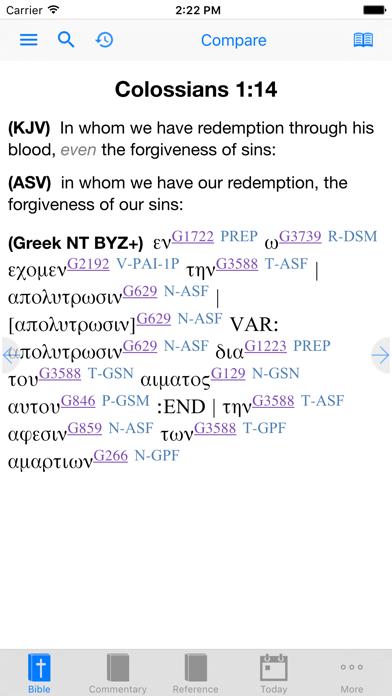 e-Sword LT: Bible Study to Go Screenshot