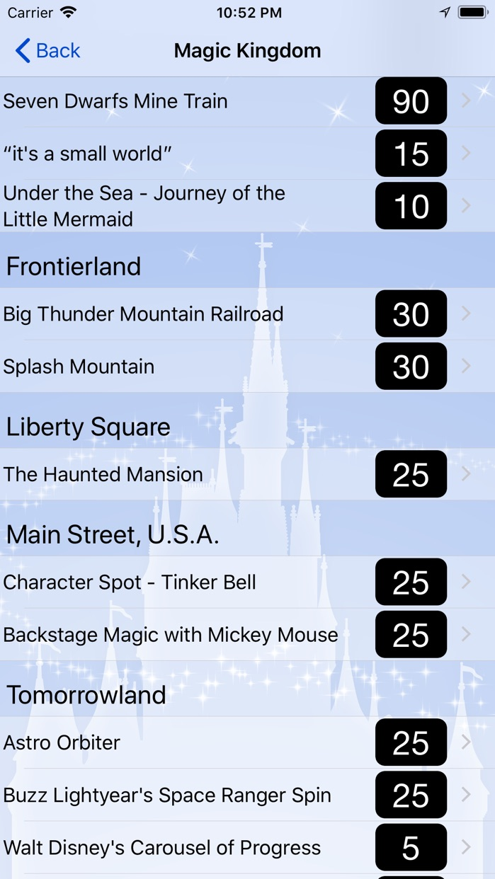Magic Guide for Disney World Screenshot