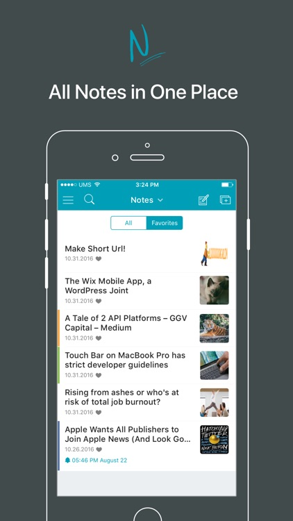 Nimbus Note screenshot-1
