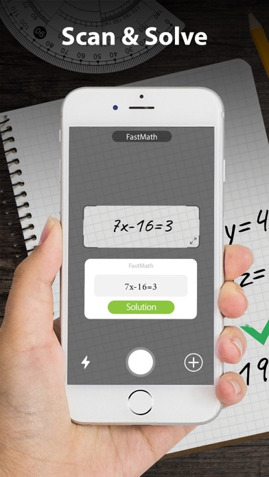 Screenshot for FastMath - Take Photo & Solve in United States App Store