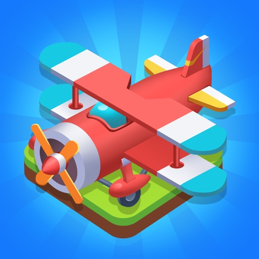 Merge Plane - Best Idle Game iOS App
