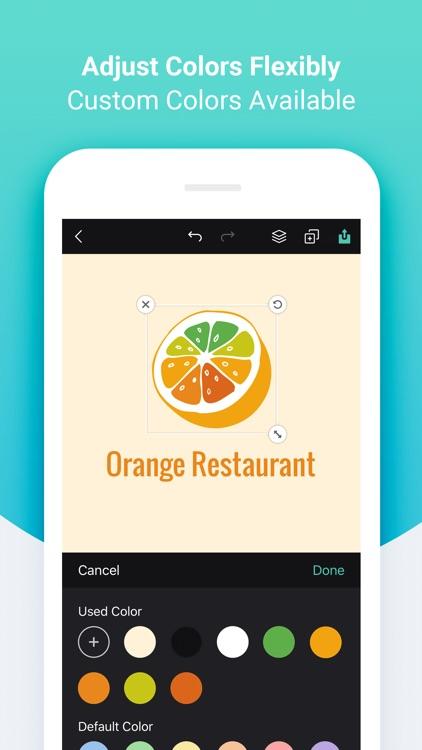 DesignEvo - Logo Maker screenshot-4