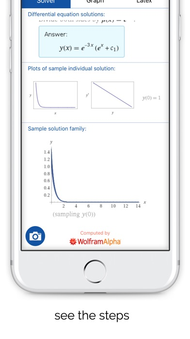 Mathpix - Solve and graph math using pictures Screenshot