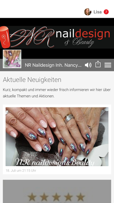 NR Naildesign Inh. Nancy Adam screenshot one