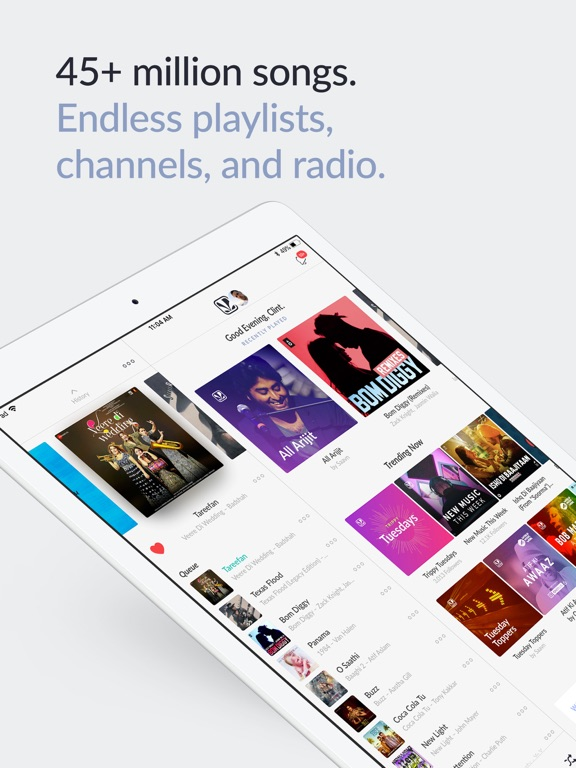 JioSaavn Music & Radio Screenshots