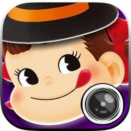 ペコカメラ 自撮りカメラアプリでペコちゃんに変身!