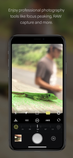 Halide: fotocamera manuale RAW Screenshot