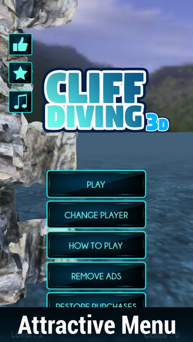 Cliff Diving 3D-Real Jumping Sports Championship screenshot one