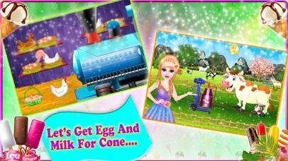 Ice cream cooking - food maker screenshot two