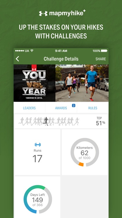 Map My Hike+ by Under Armour screenshot-4