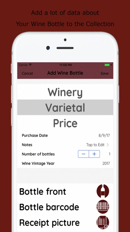 Wines List screenshot-1