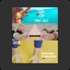 Magazine PSD file design - shengcheng Yi