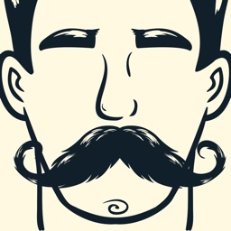 Animated Mustache Stickers