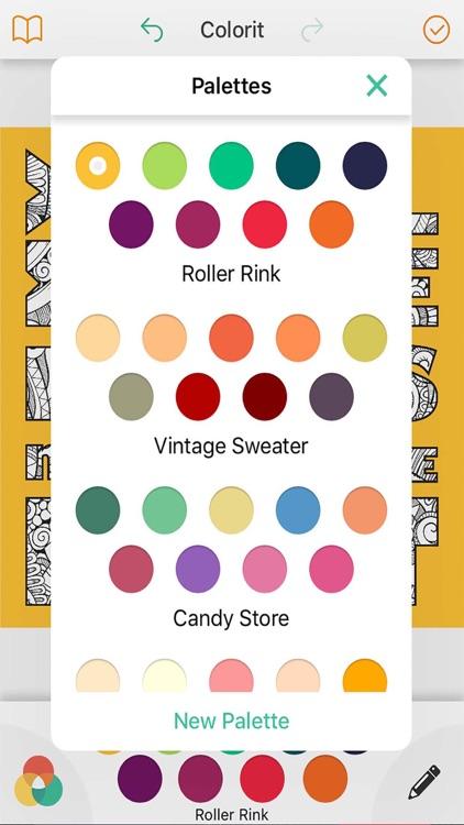 NataliArt Love Coloring book screenshot-3