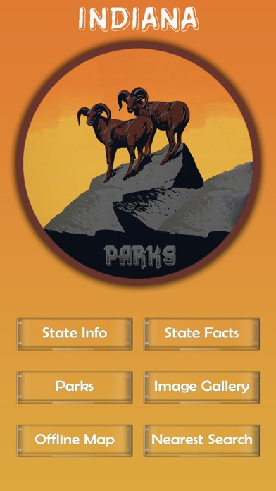 Screenshot for Indiana National Parks in Singapore App Store