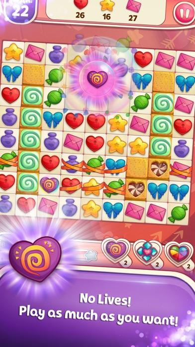 Sweet Hearts Match 3 screenshot 1