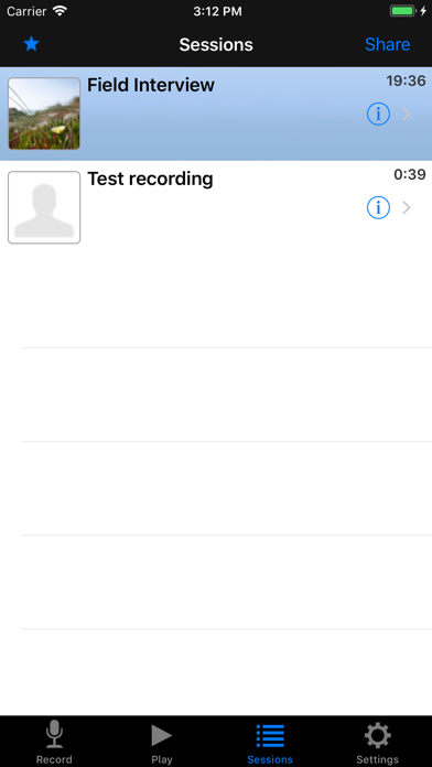 Hindenburg Field Recorder review screenshots