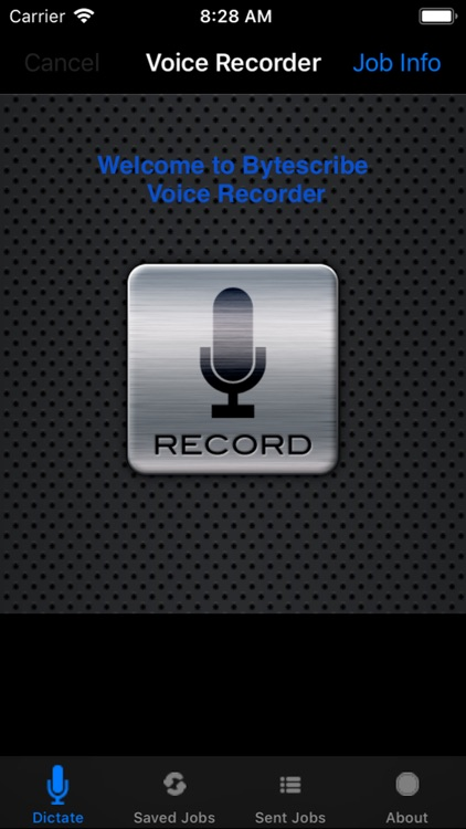 Voice Recorder Dictate screenshot-0