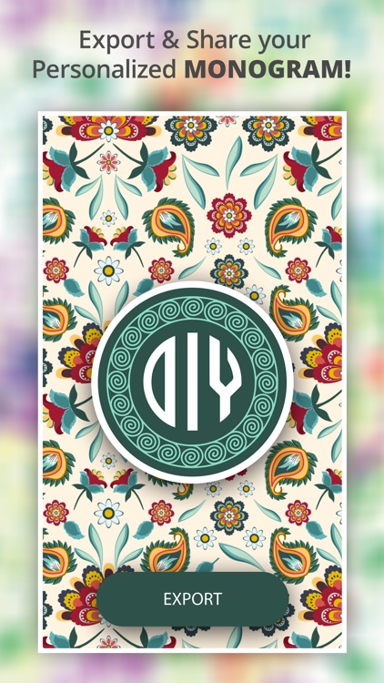 Monogram It - Wallpaper Maker screenshot-5
