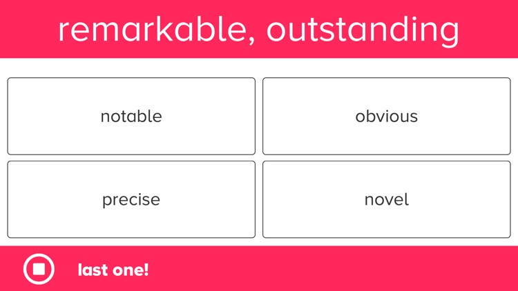 5th Grade Vocabulary Prep screenshot-8