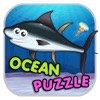 Ocean Animal Puzzle Flash Card